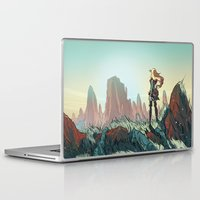 brand new Laptop & iPad Skins featuring Brand new world by LaurenceBaldetti