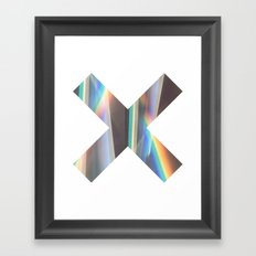Light & Mirrors Framed Art Print