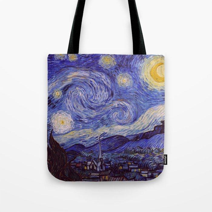 Vincent Van Gogh Starry Night Tote Bag