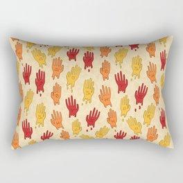 Zodiac Hands IV Rectangular Pillow