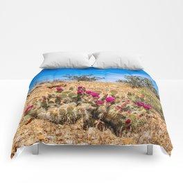 Desert Cacti in Bloom - 3 Comforters