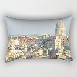 Capitolio-Nacional-Havana-Cuba- Rectangular Pillow