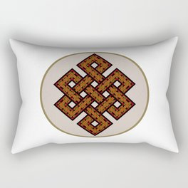The Endless Knot I Rectangular Pillow