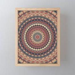 Mandala 595 Framed Mini Art Print