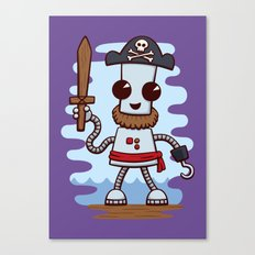 Pirate Ned Canvas Print
