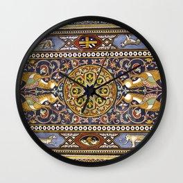 ART NOUVEAU in Giardini Naxos on the Island Sicily Wall Clock