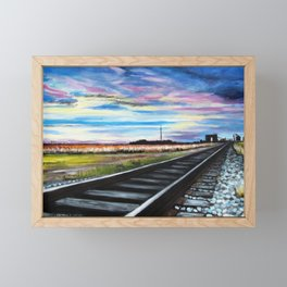 Delta Blues Framed Mini Art Print