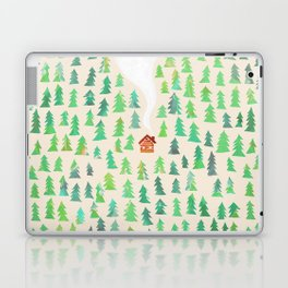 Alone in the woods Laptop & iPad Skin