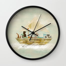 sky sailers Wall Clock