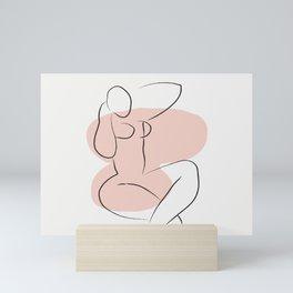 Matisse Inspired Print, Henri Matisse, Matisse Poster, Matisse Cut Out, Fine Art Print, Female Nu Mini Art Print