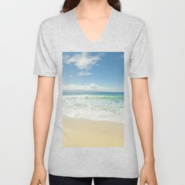kapalua beach maui hawaii Unisex V-Neck