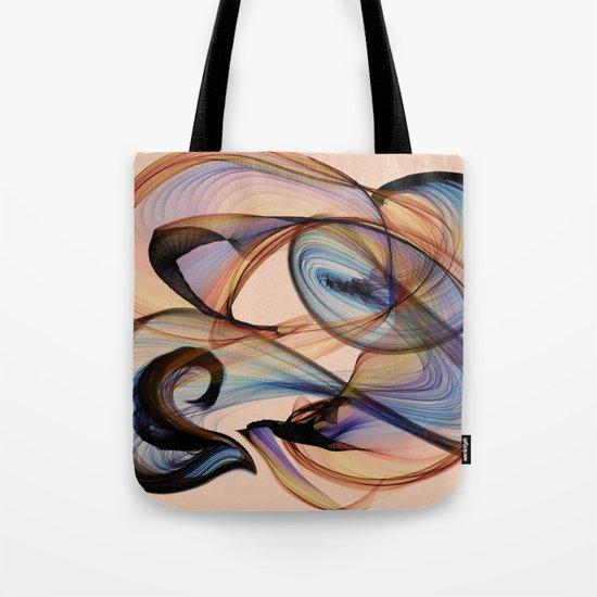 Bird Flame Peach Tote Bag