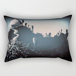 silver balls Rectangular Pillow