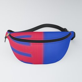 Q on Blue Fanny Pack