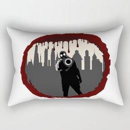 Zombie Control (Shooter) Rectangular Pillow