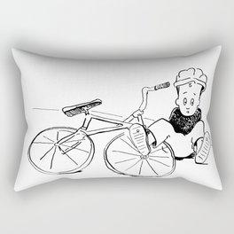 falling down is essential Rectangular Pillow