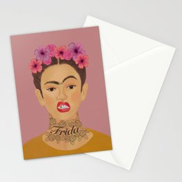 Frida tat Stationery Cards