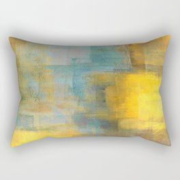 Puzzled Rectangular Pillow