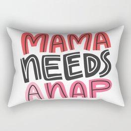 Mama Needs a Nap Rectangular Pillow