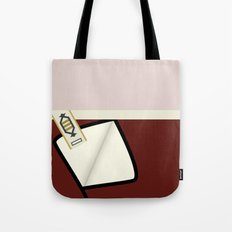 Kirk - TMP -Open - Minimalist Star Trek TMP - James T Kirk - startrek trektangles Wrath of Khan 1701 Tote Bag