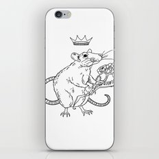 Rat King iPhone & iPod Skin