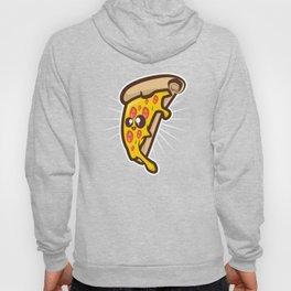Cute Kawaii Style Pizza Lover design Gift Art Illustration Hoody