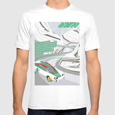 Stratos Mens Fitted Tee White MEDIUM
