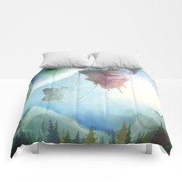 Floating Islands Comforters