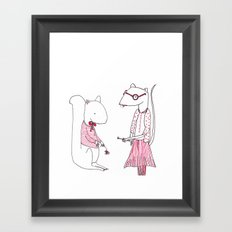 Teacher's Pet Framed Art Print