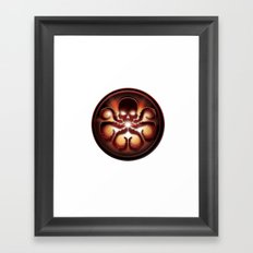 Hail Hydra Framed Art Print