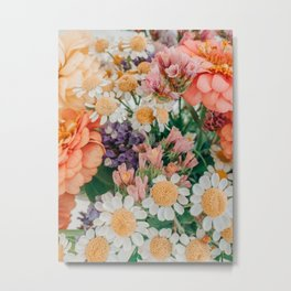 Light and Muse | Floral Bouquet no, 2 Metal Print