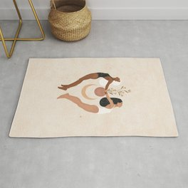 Surround Yourself with Positive Souls Rug