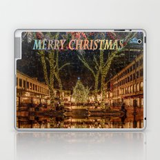 Merry Christmas, Boston Laptop & iPad Skin