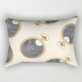 Burning the Midnight Oil  Rectangular Pillow