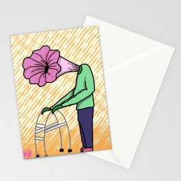 Old Petunia Stationery Cards