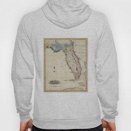 Vintage Map of Florida (1823) Hoody