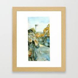 Construction Set Framed Art Print