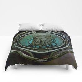 """Astrological Mechanism - Aquarius"" Comforters"