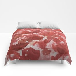 Chaotic Rose Patch Comforters