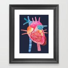 Be Still My Heart Framed Art Print