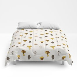 Mushroom Glaze Comforters