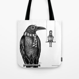 Ronald + Regina -or- The Tiny Poe Aficionados Tote Bag