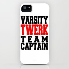 Varsity Twerk Team Captain iPhone (5, 5s) Slim Case