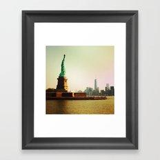Freedom & Liberty Framed Art Print