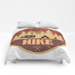 Hike Propaganda   Hiking Nature Outdoor Camping Comforters