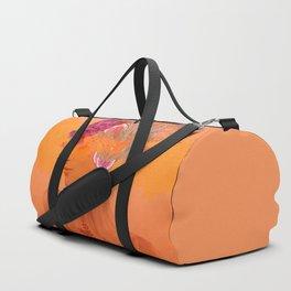 Woman in flowers III Duffle Bag