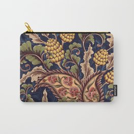Beautiful Victorian Vintage Floral Pattern Carry-All Pouch