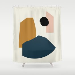 Shape study #1 - Lola Collection Shower Curtain