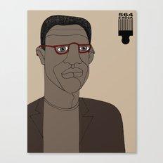 1001 Black Men--#564 Canvas Print