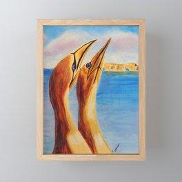 Crasy about her   Fou D'Elle Framed Mini Art Print